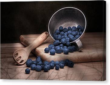 Fruit Cup Still Life Canvas Print by Tom Mc Nemar