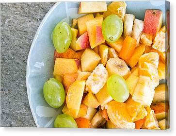 Fruit Salad Canvas Print by Tom Gowanlock