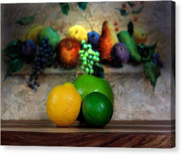 Fruits Galore Canvas Print by Cecil Fuselier