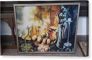 Fruits Site Canvas Print by Palli Ritu