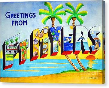 Ft Myers Canvas Print by Terry Gardiner