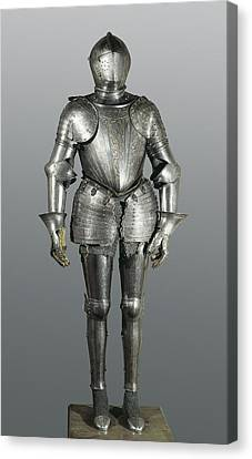 Full Armour. Made In Milan Canvas Print by Everett