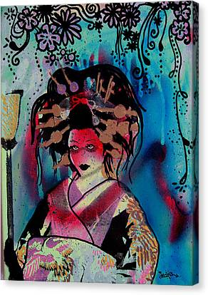 Fumiko Canvas Print by dreXeL