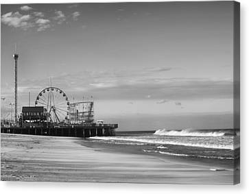Funtown Pier Seaside Heights New Jersey  Canvas Print by Terry DeLuco