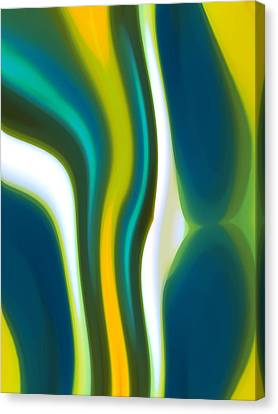 Abstract Tide 2 Canvas Print by Amy Vangsgard