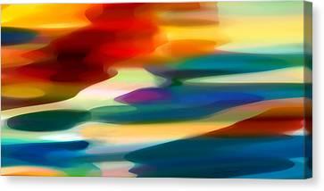 Fury Seascape Canvas Print by Amy Vangsgard