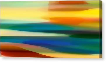 Fury Seascape II Canvas Print by Amy Vangsgard