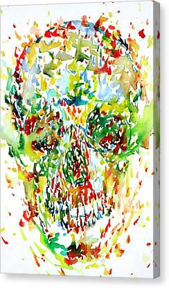 Future City Canvas Print by Fabrizio Cassetta