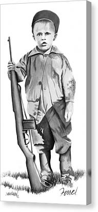 Future Trooper Canvas Print by Ferrel Cordle