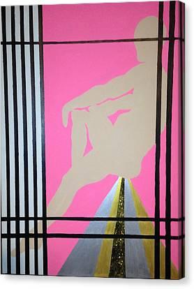 Futurhistic Canvas Print by Erika Chamberlin