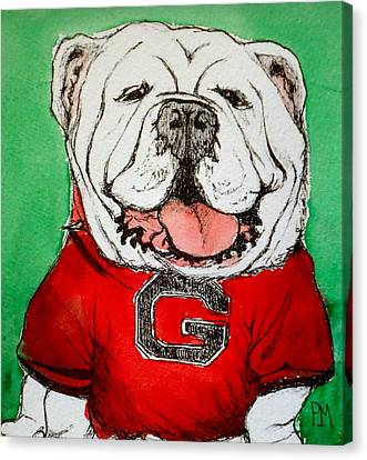 G Dawg Canvas Print by Pete Maier