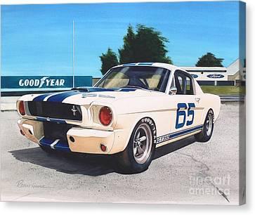 G T 350 Canvas Print by Robert Hooper