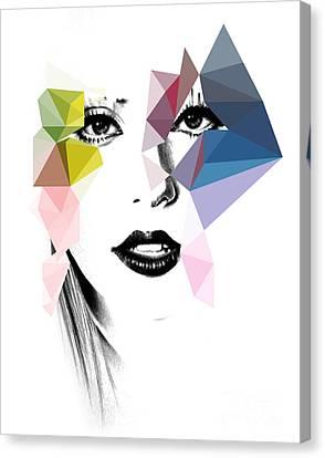 Ga Ga Canvas Print by Mark Ashkenazi
