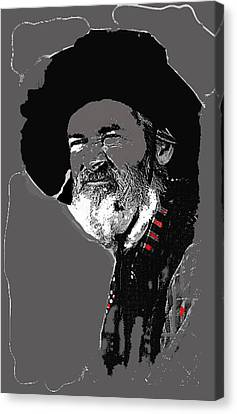 Gabby Hayes #3 Canvas Print by David Lee Guss