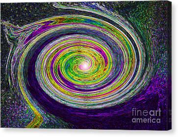 Galaxy Birth 3 Nova Canvas Print by First Star Art