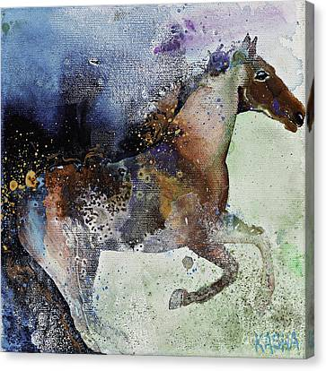 Gallop Canvas Print by Kasha Ritter