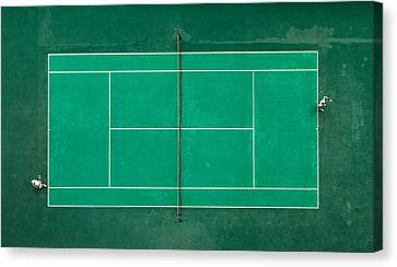 Game! Set! Match! Canvas Print by Fegari