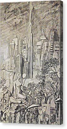 Gammora Canvas Print by George Harrison