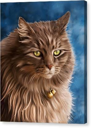 Gandalf Canvas Print by Michelle Wrighton