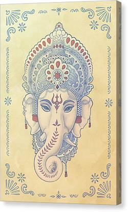 Ganesh Canvas Print by Alden Hardee