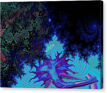 Ganesh Blessings Canvas Print by Jason Saunders