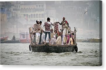 Ganges Canvas Print by Brad Grove