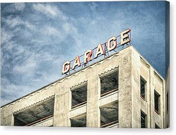 Garage Canvas Print by Scott Norris