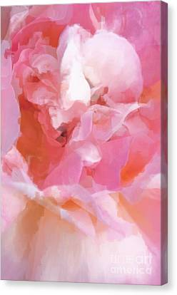 Garden Ballet Canvas Print by Gwyn Newcombe