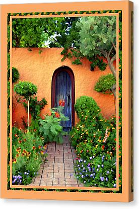 Garden Delights Mesilla Canvas Print by Kurt Van Wagner