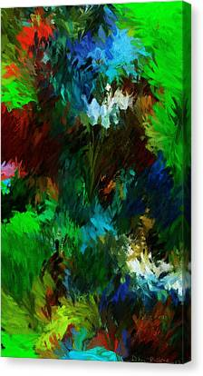 Garden In My Dream Canvas Print by David Lane