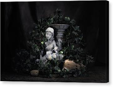 Garden Maiden Canvas Print by Tom Mc Nemar