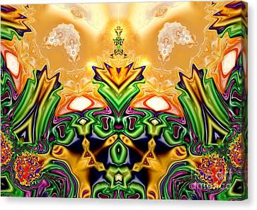 Garden Of Eden Canvas Print by Indira Emmerlich