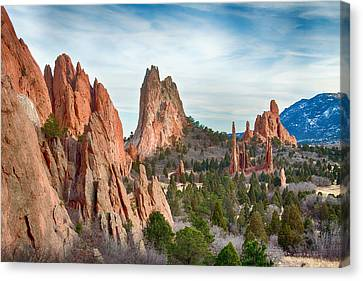 Garden Of The Gods Canvas Print by James BO  Insogna