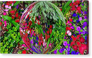 Garden Orb Canvas Print by Dan Sproul