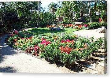 Garden Park Canvas Print by Aimee L Maher Photography and Art Visit ALMGallerydotcom