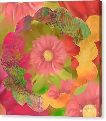 Garden Party Canvas Print by Christine Fournier