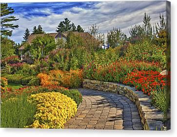 Garden Path Canvas Print by Jill Brooks