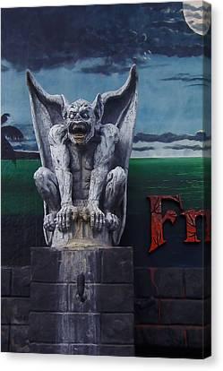 Gargoyle Canvas Print by Art Block Collections