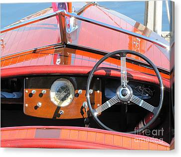 Garwood Runabout Canvas Print by Neil Zimmerman