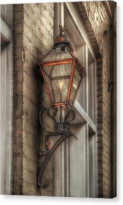 Gas Light Of New Orleans Canvas Print by Brenda Bryant