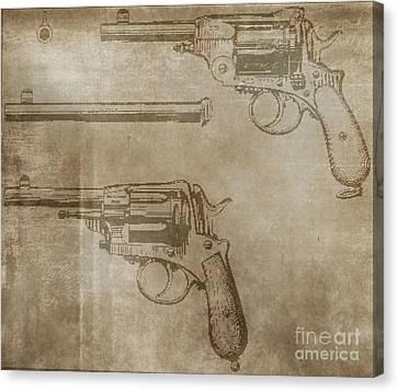 Gasser Model 1873 Canvas Print by Steven Parker