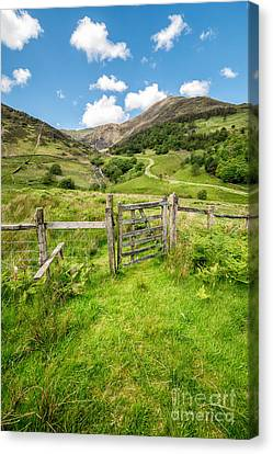 Gate To Paradise Canvas Print by Adrian Evans