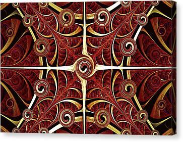 Gates Of Balance Canvas Print by Anastasiya Malakhova
