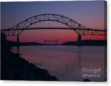 Gateway To Cape Cod Canvas Print by Amazing Jules