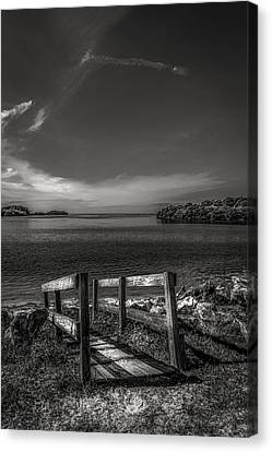 Gateway To The Gulf Canvas Print by Marvin Spates