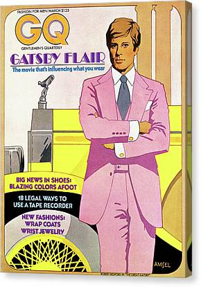 Gatsby Flair Canvas Print by Richard Amsel