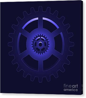 Gear - Cog Wheel Canvas Print by Michal Boubin