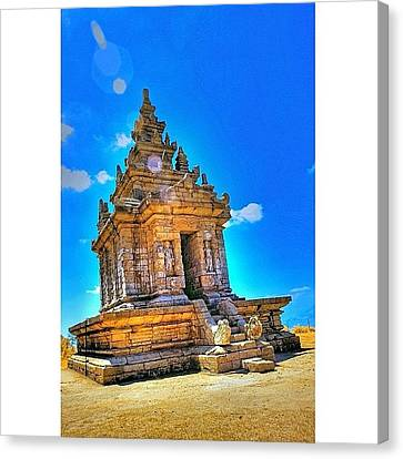 Gedong Songo (indonesian: Candi Gedong Canvas Print by Tommy Tjahjono