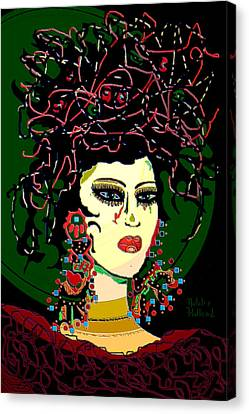 Geisha 6 Canvas Print by Natalie Holland