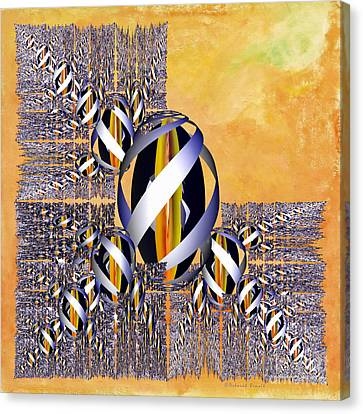 Gem Of Gold Canvas Print by Deborah Benoit